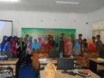 "Mahasiswa BKI bersama dengan Dra. Ai Solihat, Kons. dalam Workshop PKBKI ""Terapi Qurani dan Bimbingan Rohani di Rumah Sakit"""